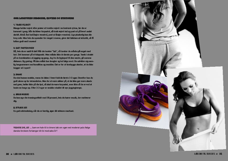 anne bech, sund og slank på 6 uger, træningsbog, fit, anne bech forfatter, yummi design, design for sundhed, art director signe boye, designer signe boye, yummi design, gyldendal